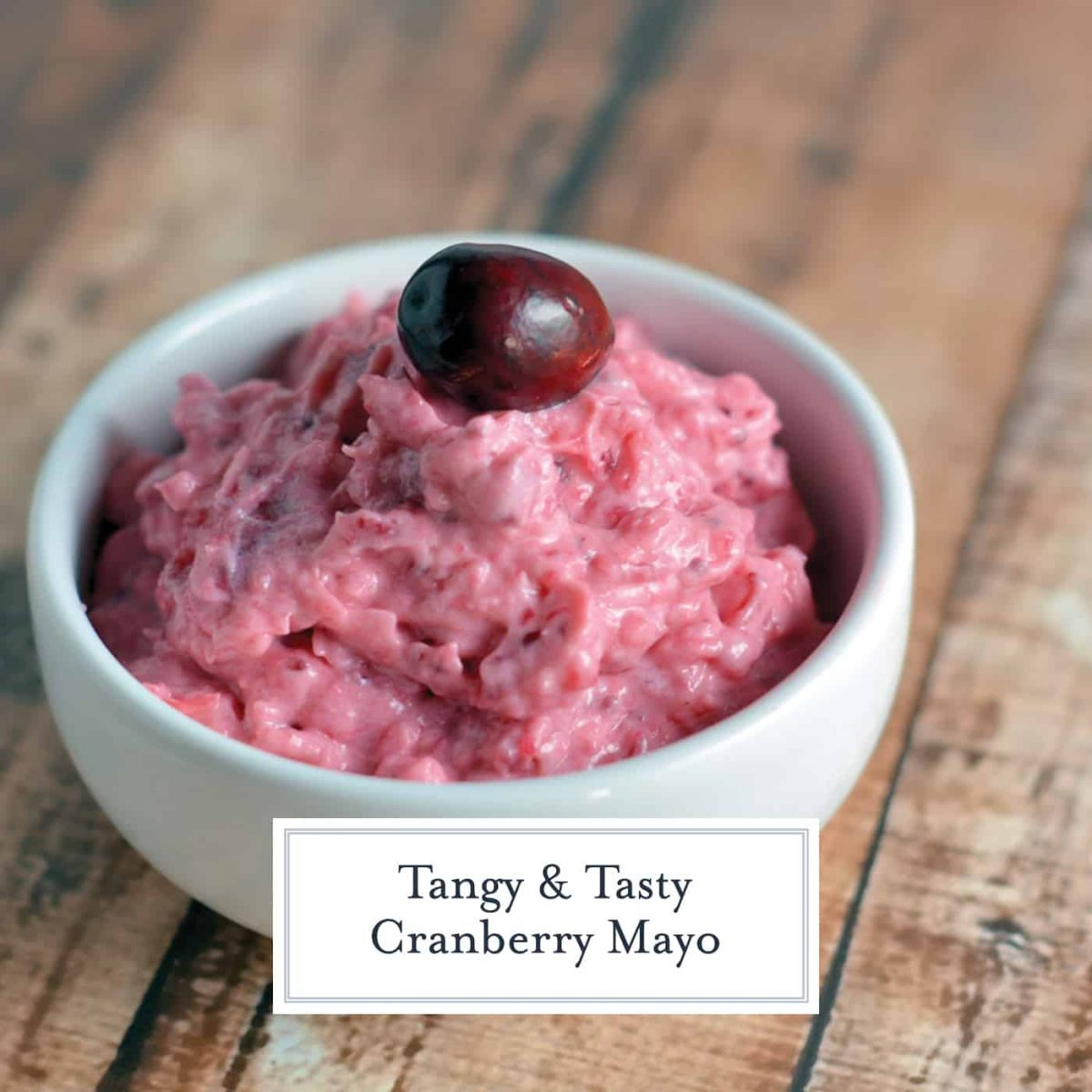If you like mayonnaise, you will LOVE my Cranberry Mayo. Slightly sweet and just a touch tart, it adds a new dimension to any sandwich. #cranberrymayo #cranberrysauce #cranberryrelish www.savoryexperiments.com