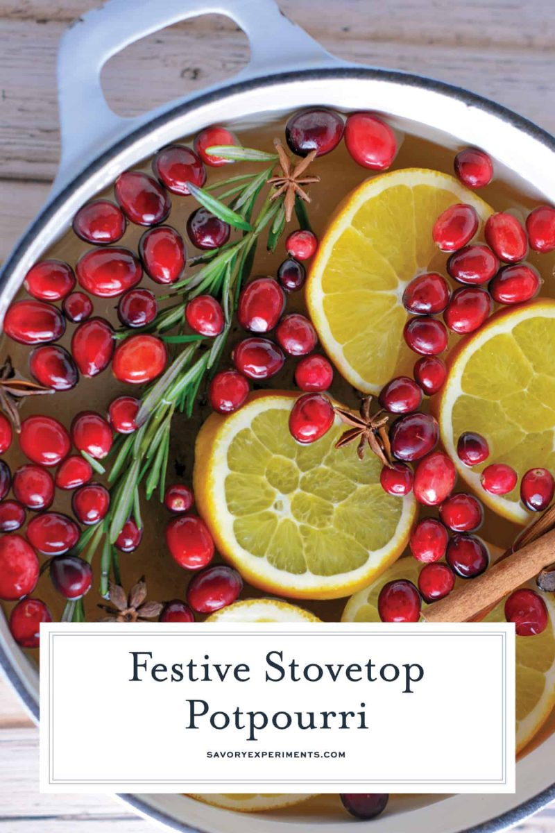 Holiday potpourri on the stovetop