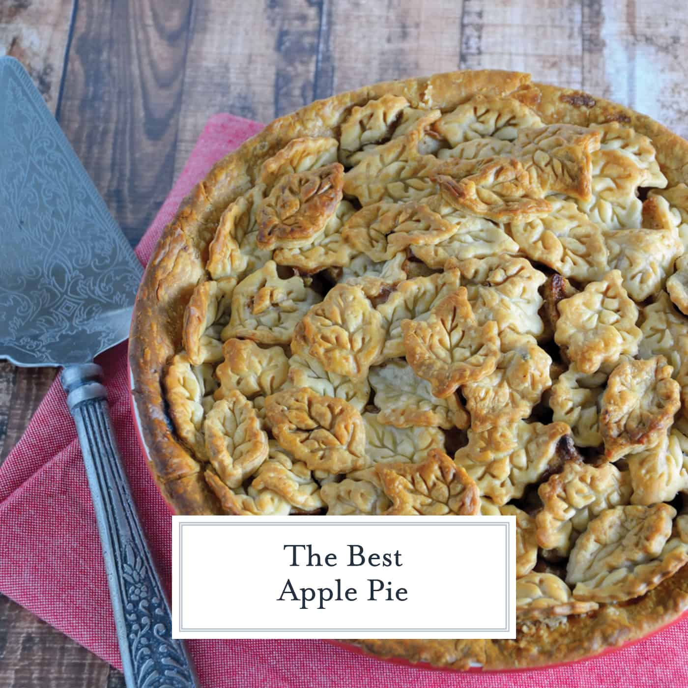 The Best Apple Pie Recipe is an all-American dessert recipe that pairs tart apples with the perfect amount of sugar and spice. #bestapplepie #applepie www.savoryexperiments.com