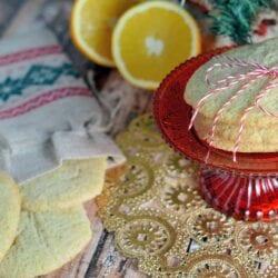 Orange Cardamom Slice & Bake Cookies Recipe- Orange and cardamom provide a festive flavor for holiday slice and bake cookies. Make ahead and even freeze until you are ready to bake!