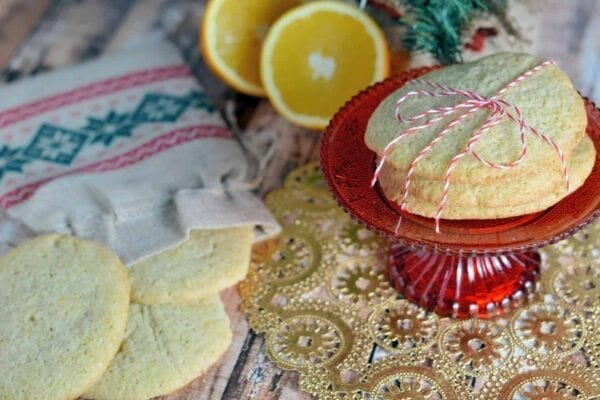 Orange Cardamom Slice & Bake Cookies Recipe- Orange and cardamom provide a festive flavor for holiday slice and bake cookies. Make ahead and even freeze until you are ready to bake!