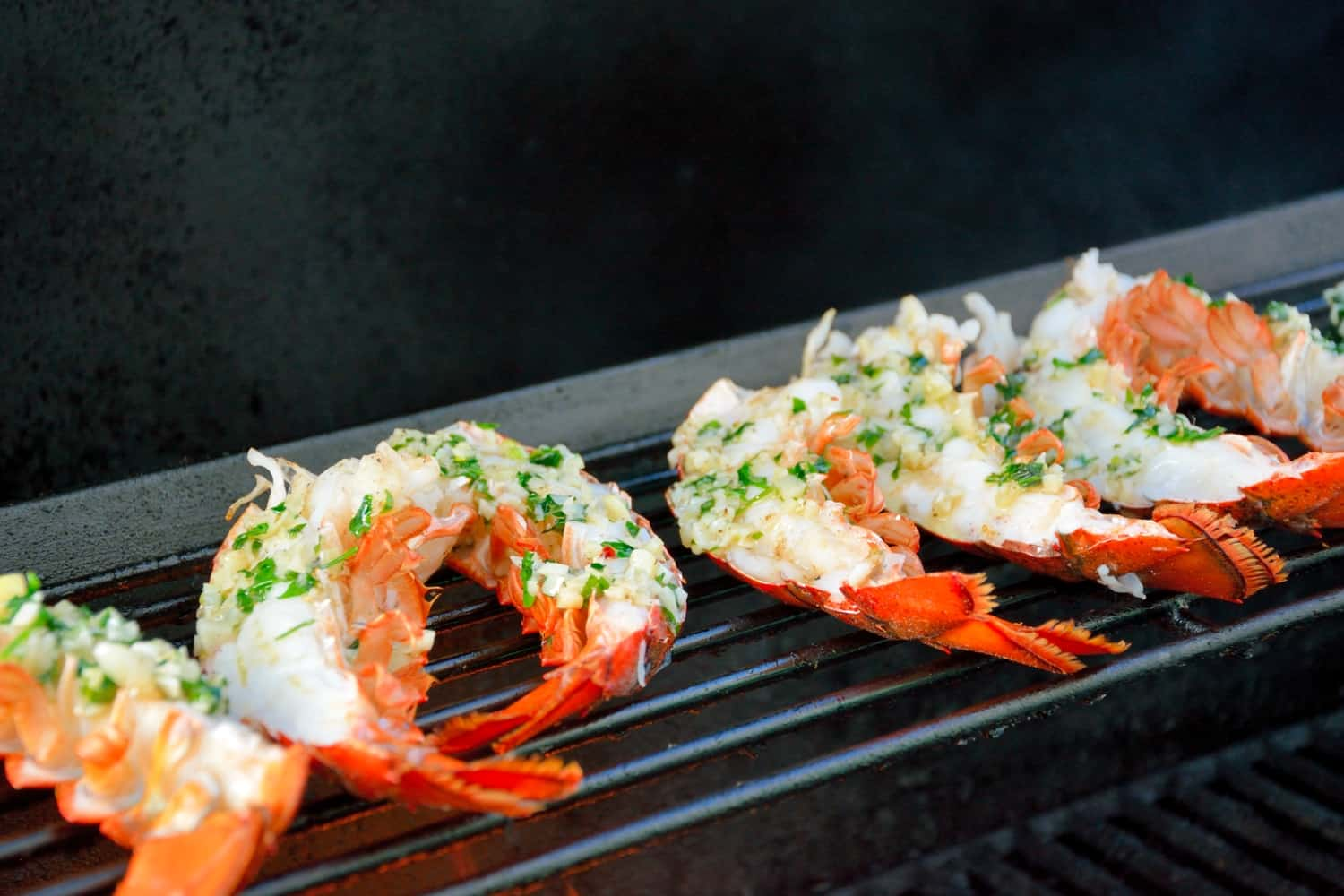 frozen lobster tail recipe grilled