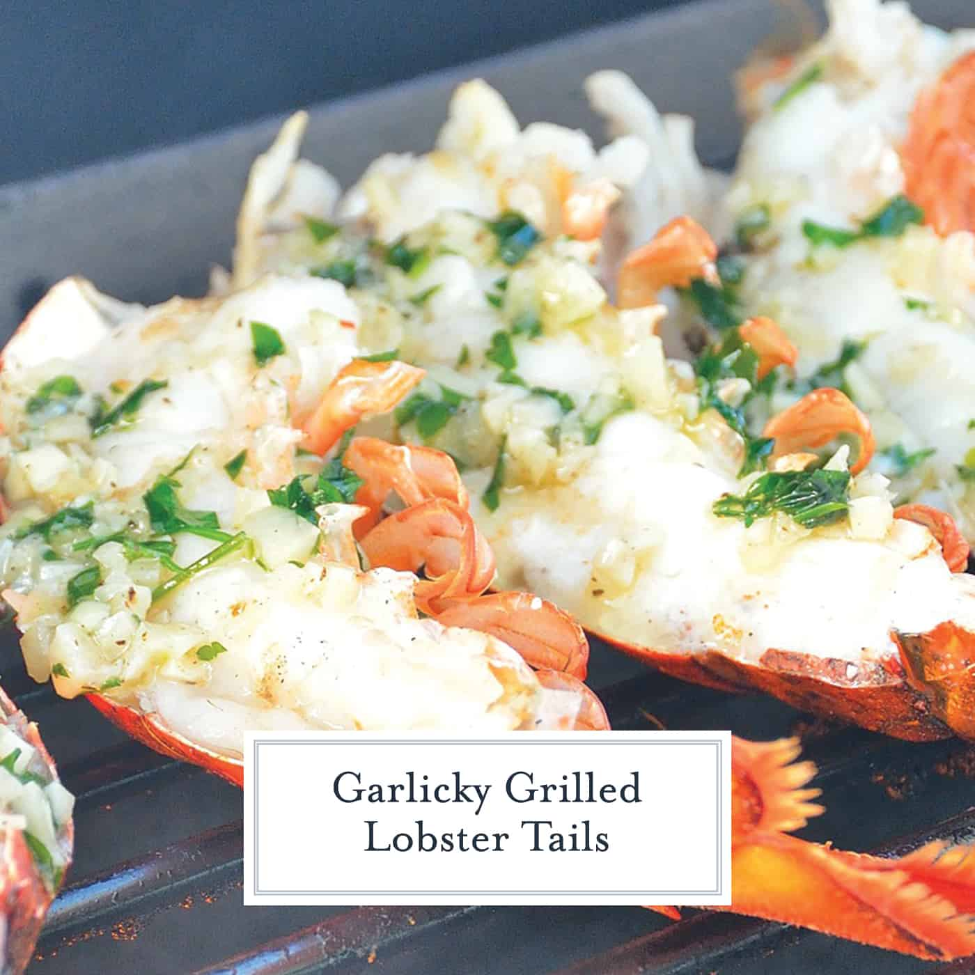This Grilled Lobster Tail recipe is quick and amazing! It will fulfill your seafood desires and leave you wanting more!! #lobsterrecipes #howtomakelobster #grilledlobstertails www.savoryexperiments.com