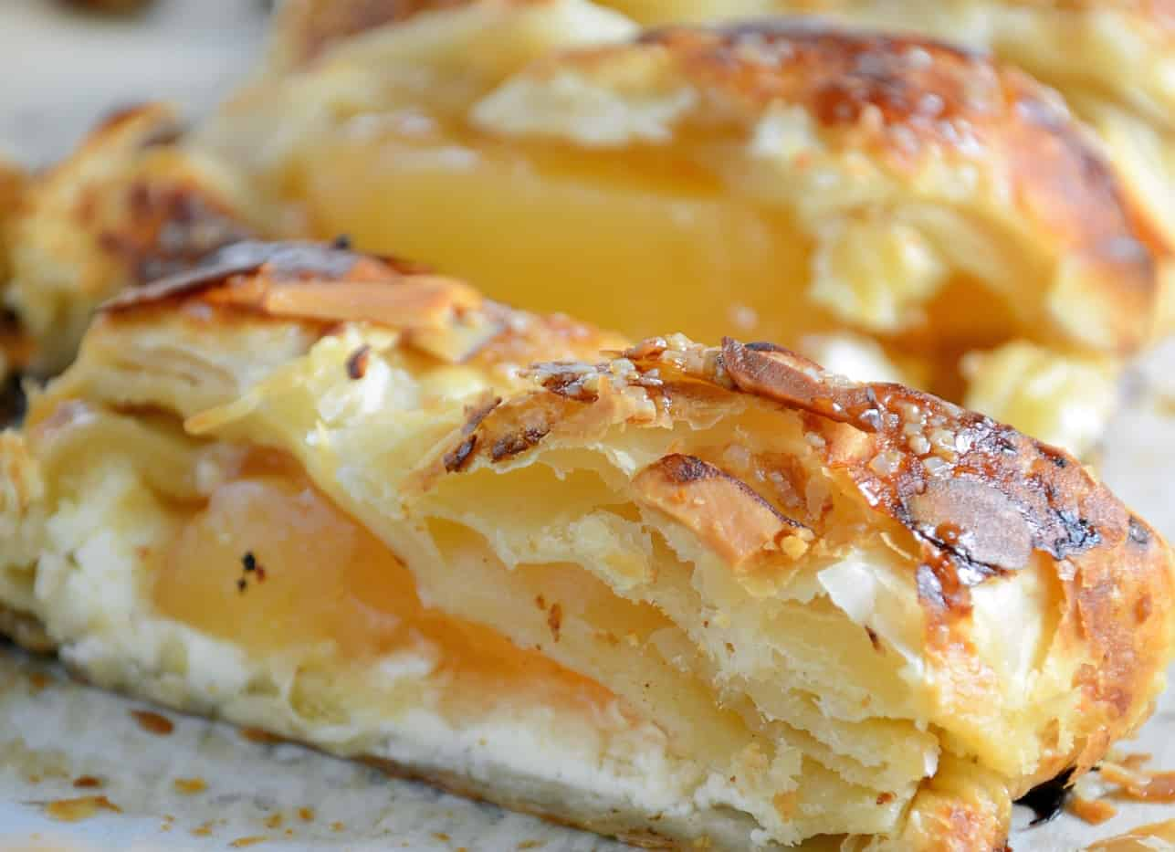 Easy Apple Cream Cheese Strudel Savory Experiments