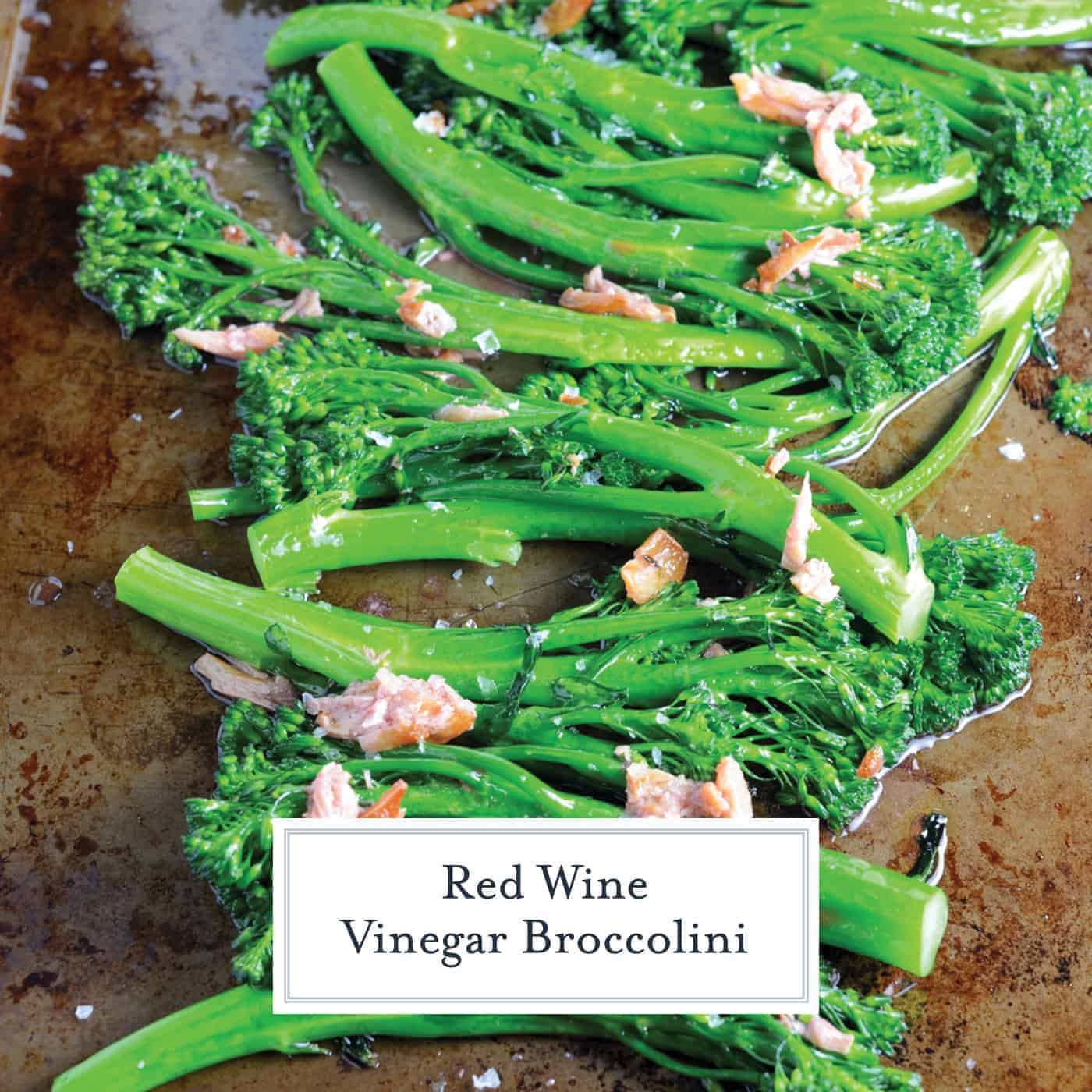 Red Wine Vinegar Broccolini combines fresh flavors of tender broccolini with garlic and snappy red wine vinegar for a simple, healthy and tasty side dish recipe.#broccolini #sidedisherecipes www.savoryexperiments.com