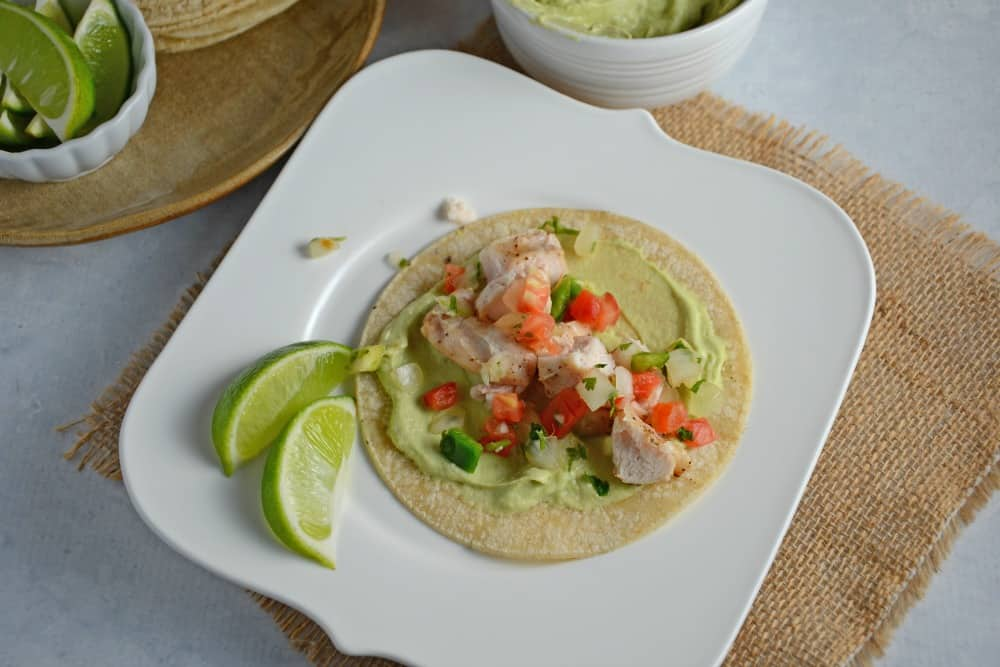 Grilled Chicken Tacos With Pumpkin Seed Sauce Recipe ...