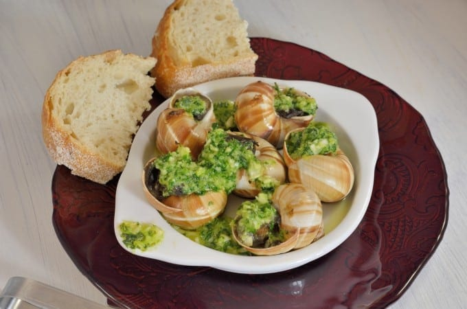 Classic French Escargots