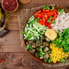 7 Tips for More Interesting Salads- #4 will surely surprise you! #saladrecipes #saladideas www.savoryexperiments.com
