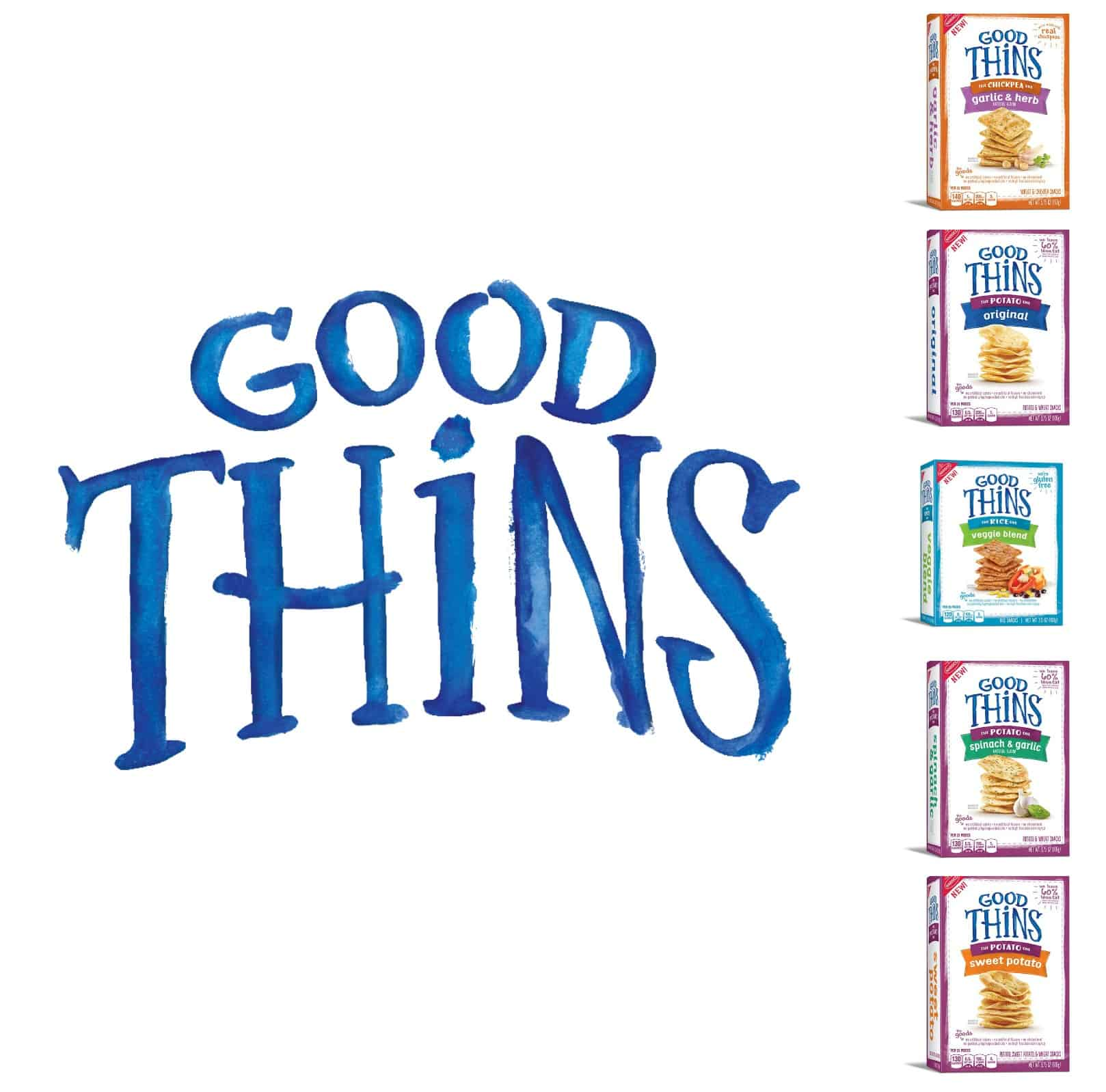GOOD THiNS Snack- a tasty and easy snack!