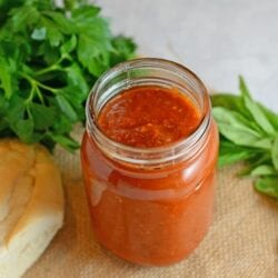 30 Minute Marinara Sauce - Quick and easy meals
