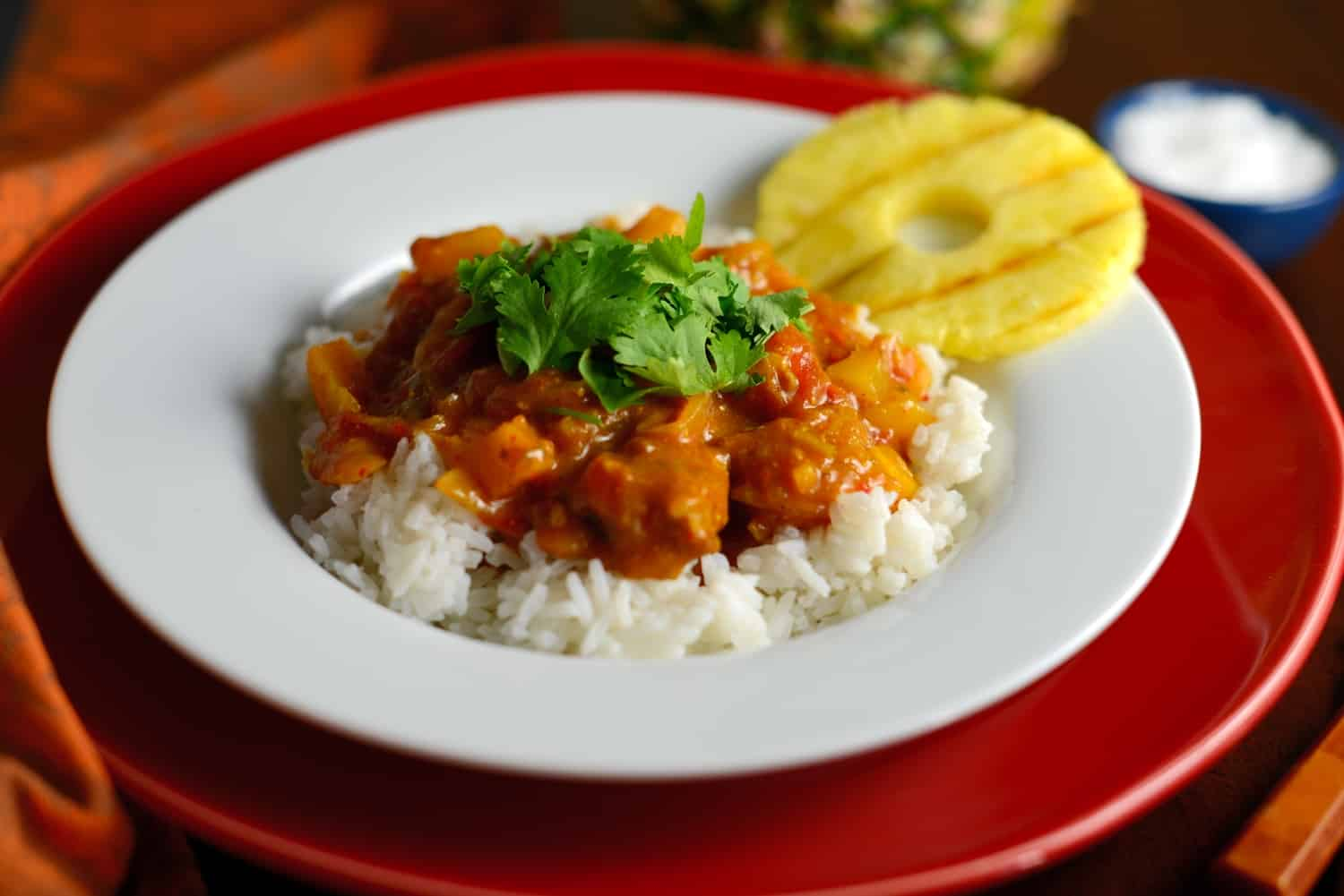 dae8b0a3403 Pineapple and Pork Curry Recipe- this is the best curry recipe you will  ever taste