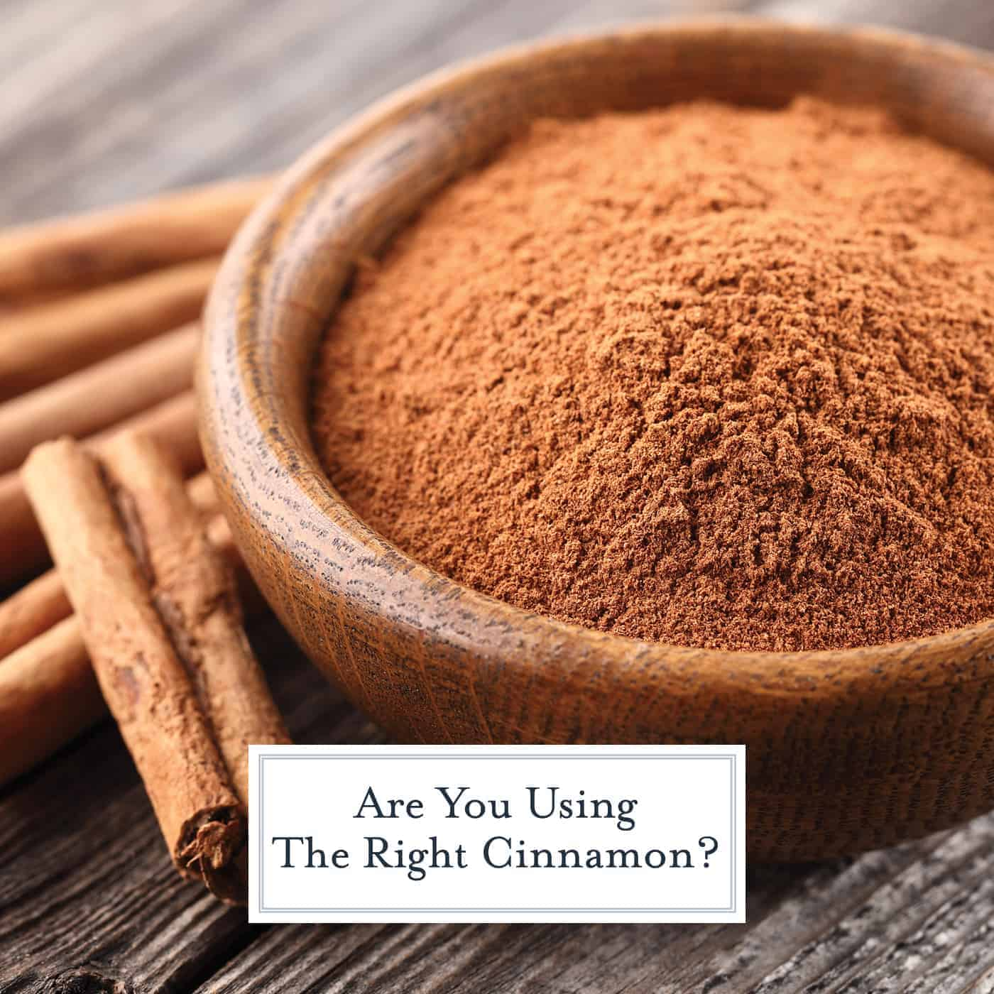 Cinnamon is one of the most commonly used spices, but there are so many varieties. See if you are using the one with best flavor and maximum health benefits! #cinnamon www.savoryexperiments.com