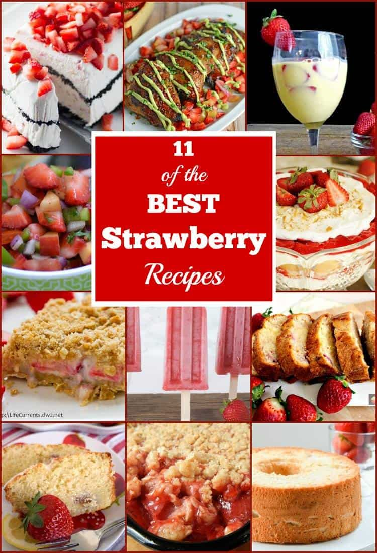 11 of the BEST Strawberry Recipes Ever!