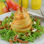 Pear Salad with Candied Walnuts