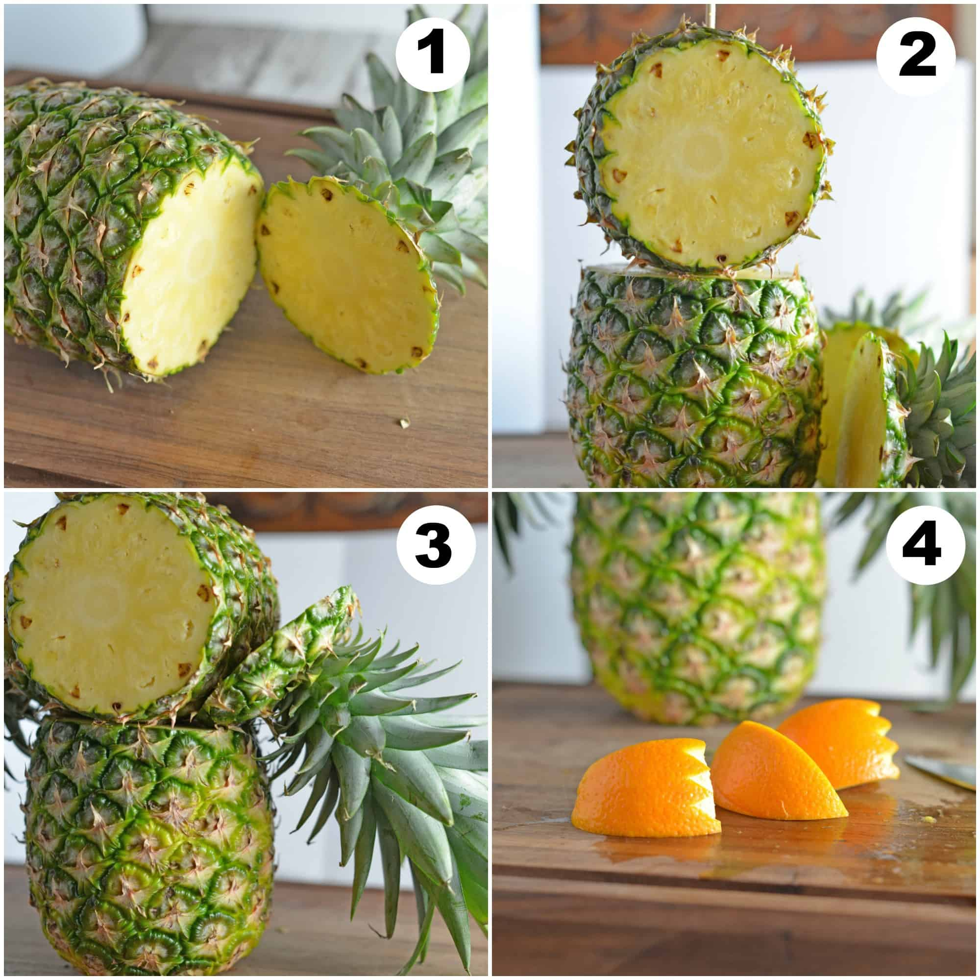 Pineapple owl centerpiece savory experiments
