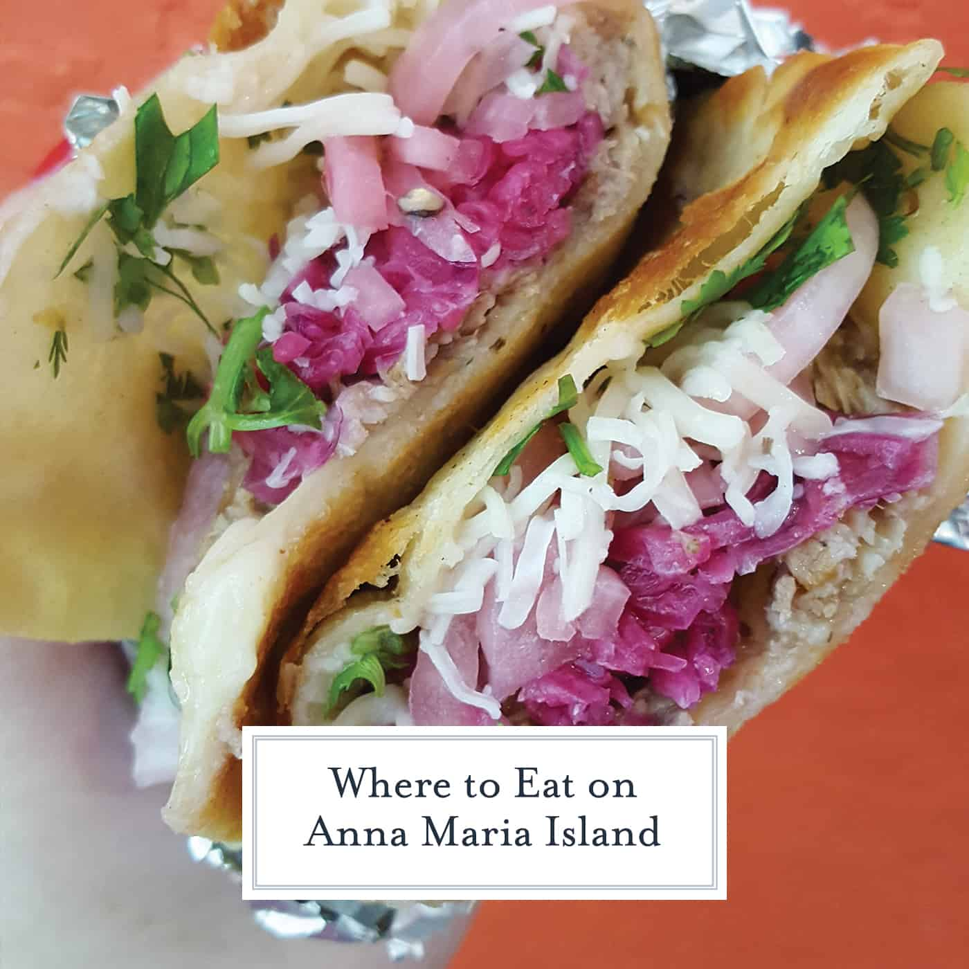 Where to Eat on Anna Maria Island: the best places to dine for seafood, tacos, Italian food, cupcakes, decadent desserts and a juicy steak. #annamariaisland #visitflorida www.savoryexperiments.com