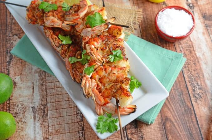 Grilled Shrimp- Thai Style