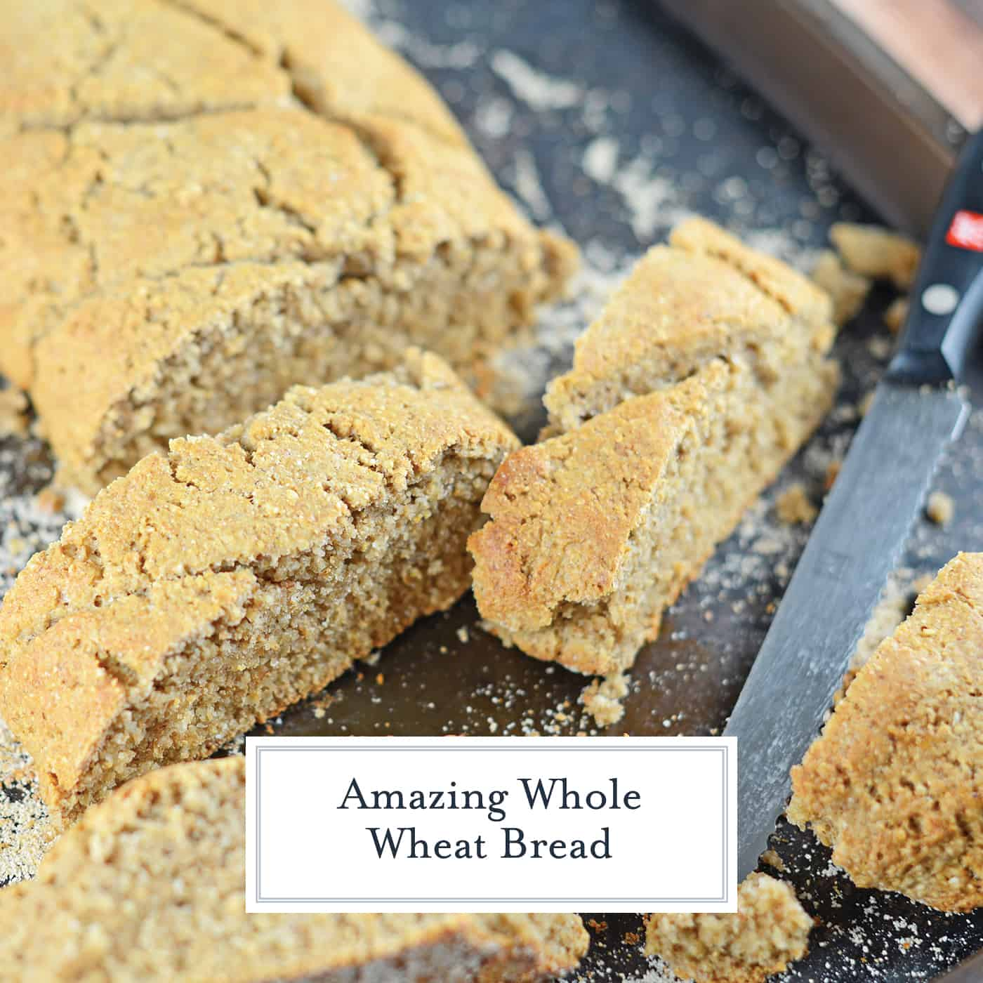 Whole Wheat Bread, homemade bread is not only healthier, it is also super easy to make! Only 30 minute hands-on for an impressive loaf of whole wheat bread. #homemadebread #wholewheatbreadrecipes www.savoryexperiments.com