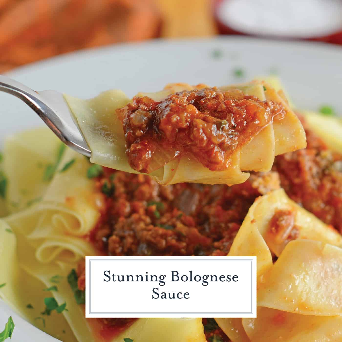Bolognese Sauce is a classic, rich and hearty Italian sauce made with ground meat and coarsely chopped vegetables. Serve over pasta or in lasagna. #bolognesesauce #bologneserecipe www.savoryexperiments.com