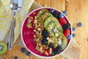 Easy Breakfast Recipe | Healthy Breakfast Idea | Smoothie Bowl
