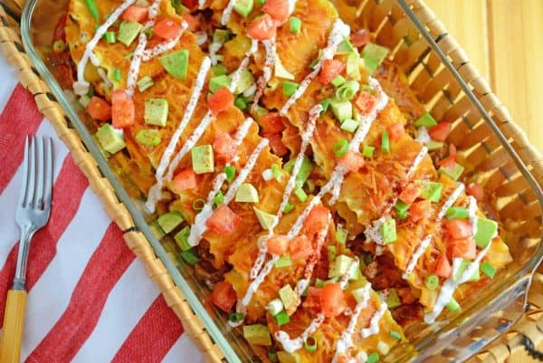 Mexican Lasagna Rolls are the best marriage of taco lasagna and ...