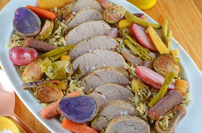 One Pan Garlic Herb Pork