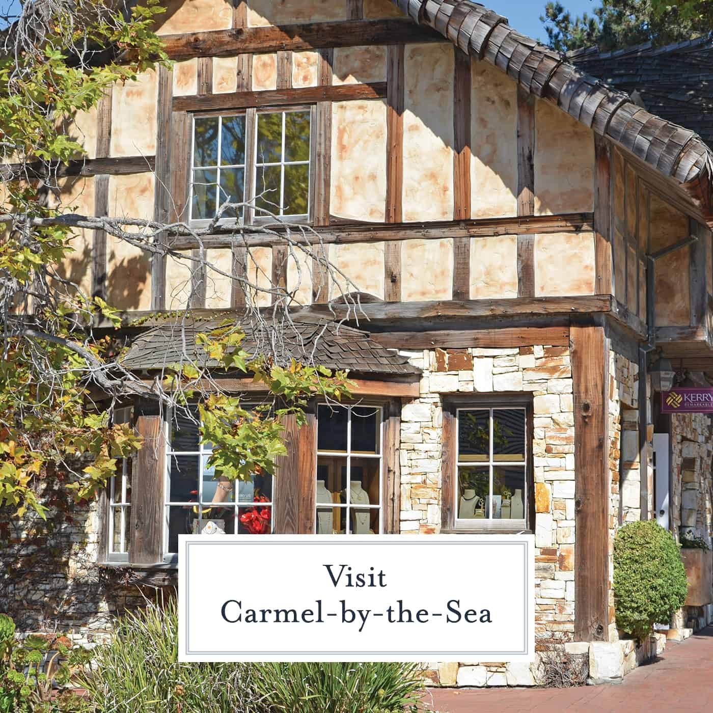 Guide to planning a day trip to Carmel-by-the-Sea including where to eat, historical relevance and interesting facts about this quaint little town. #carmelbythesea #california www.savoryexperiments.com