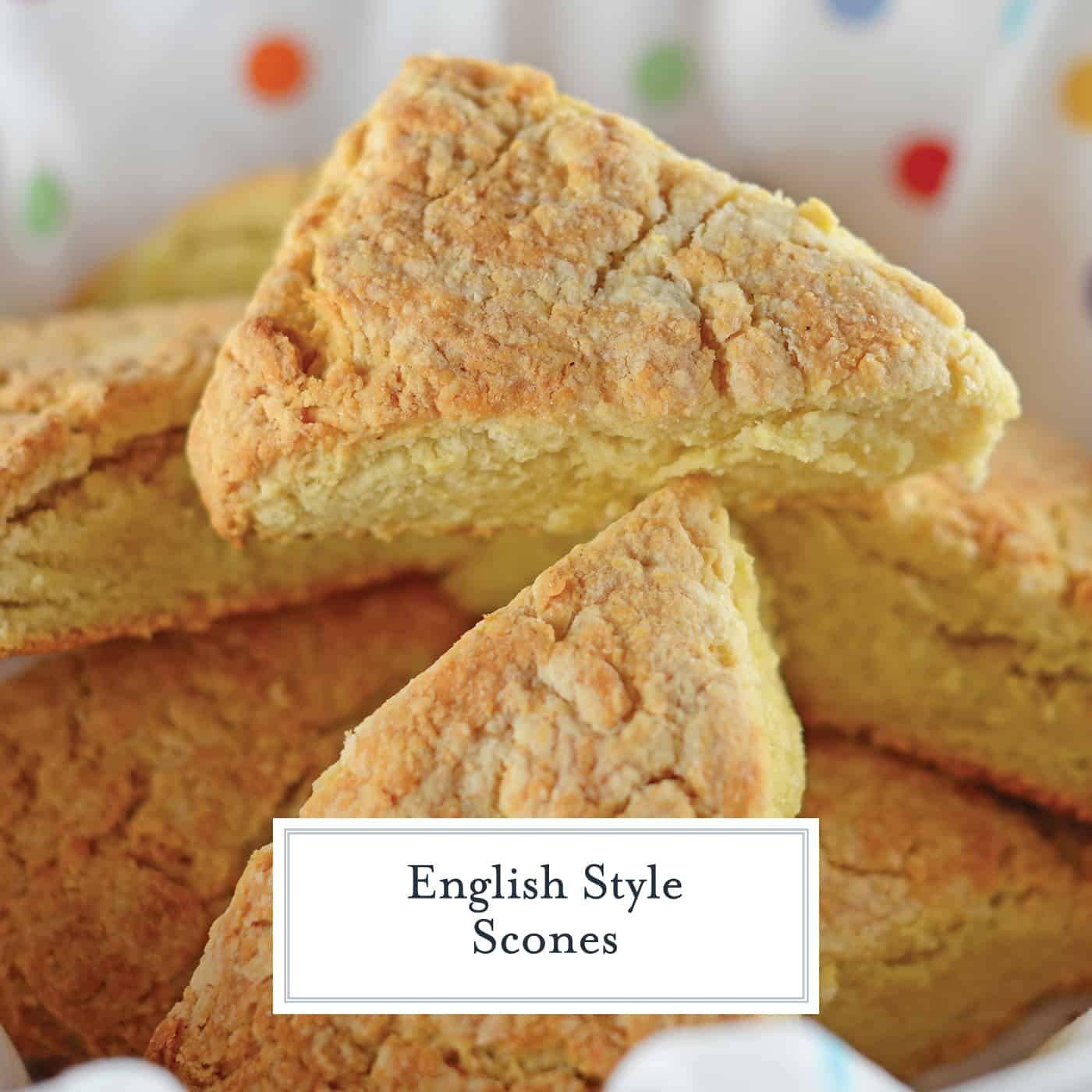 English Scones can be the perfect addition to any brunch or afternoon tea. They are simple to make and even tastier to eat! #britishscones #englishscones #sconerecipe www.savoryexperiments.com