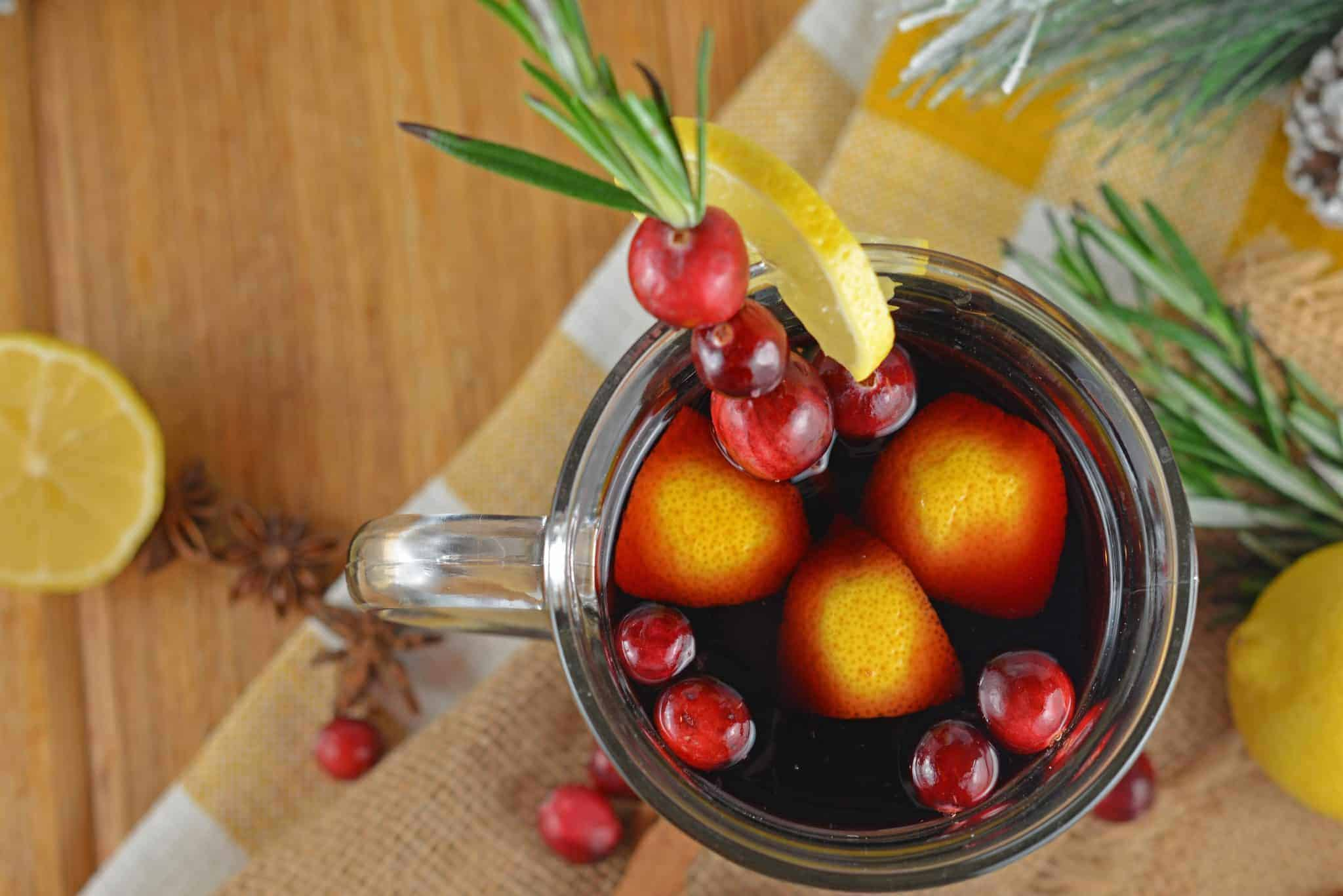Wassail Hot Toddy should be on everyone's holiday cocktail list! Easy to make and perfect for holiday parties, you'll be the star of the show!