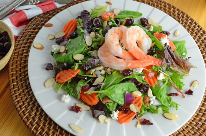Cranberry Almond Salad
