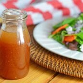 Dijon Vinaigrette is a tasty and simple homemade salad dressing that will compliment any salad or grilled vegetable platter.
