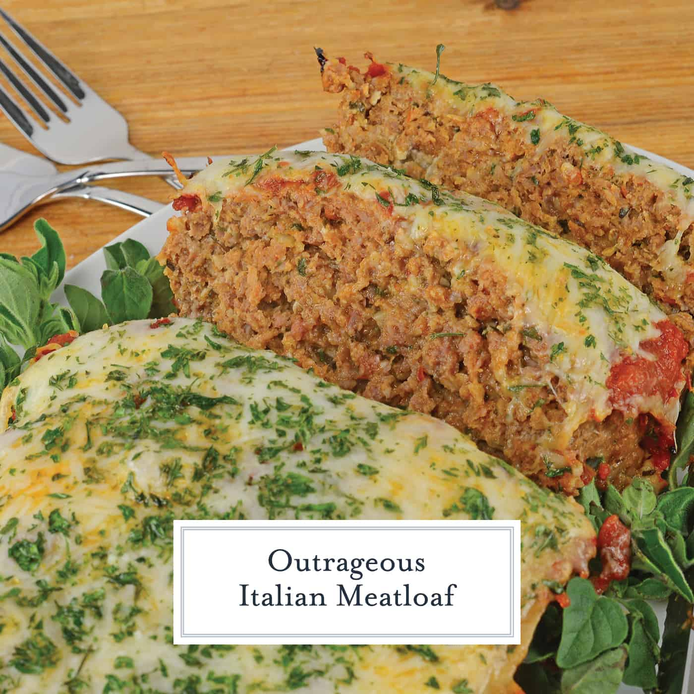 Italian Meatloaf blends Italian sausage and ground beef with spices and cheese for a tender one dish meal. The perfect family meal! #bestmeatloafrecipes #italianmeatloaf www.savoryexperiments.com