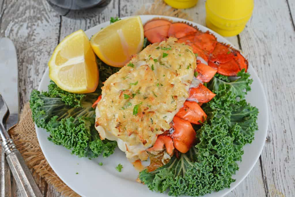 Stuffed Lobster Tails - Savory Experiments