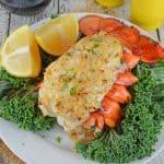 Stuffed Lobster Tails