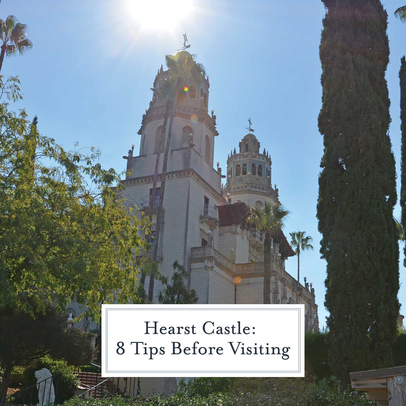 "Hearst Castle is a ""museum like no other""! Here are 8 tips to know before you plan your visit to Hearst Castle and down route 1.  #hearstcastle #visitcalifornia #bigsur www.savoryexperiments.com"