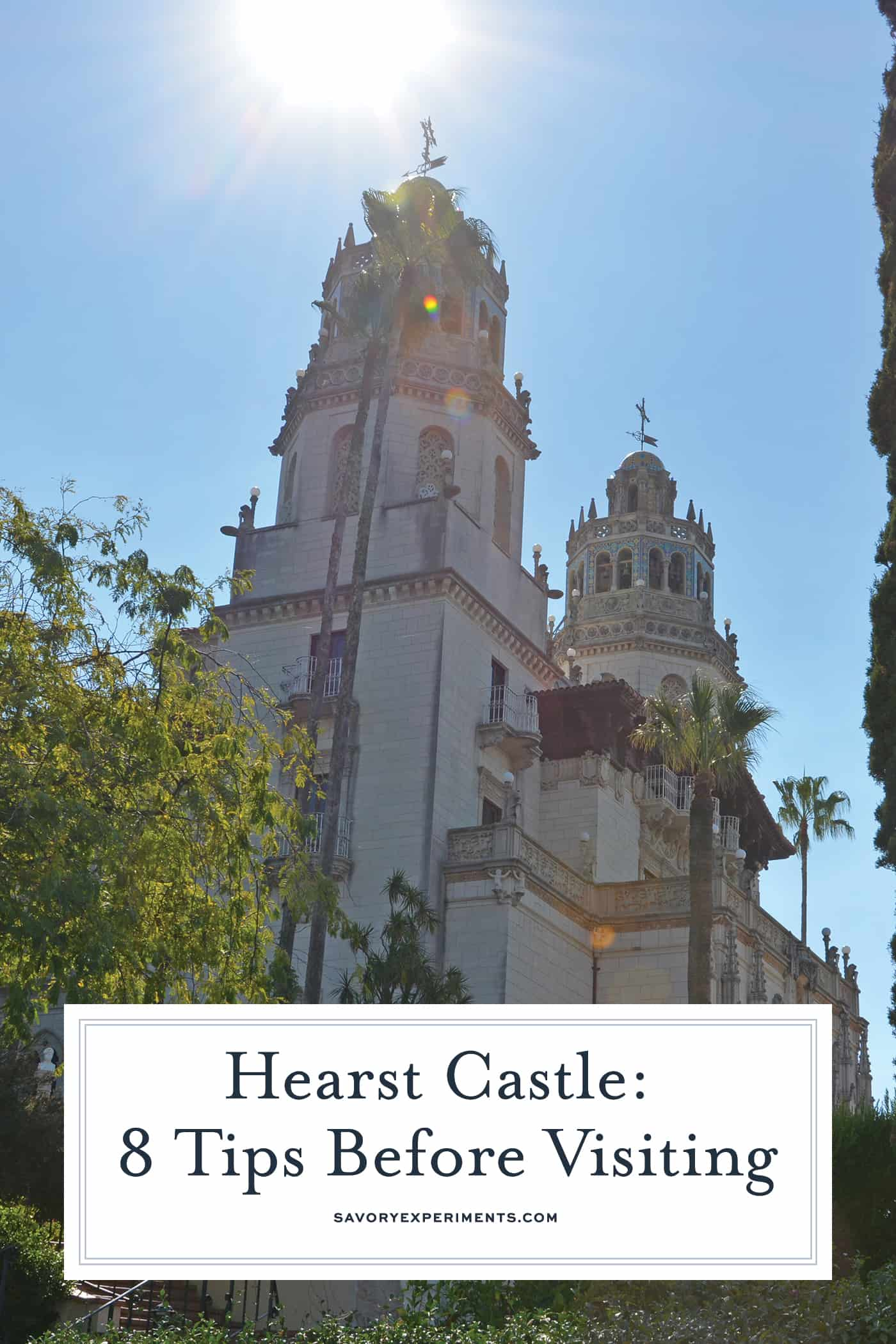 Hearst Castle is a
