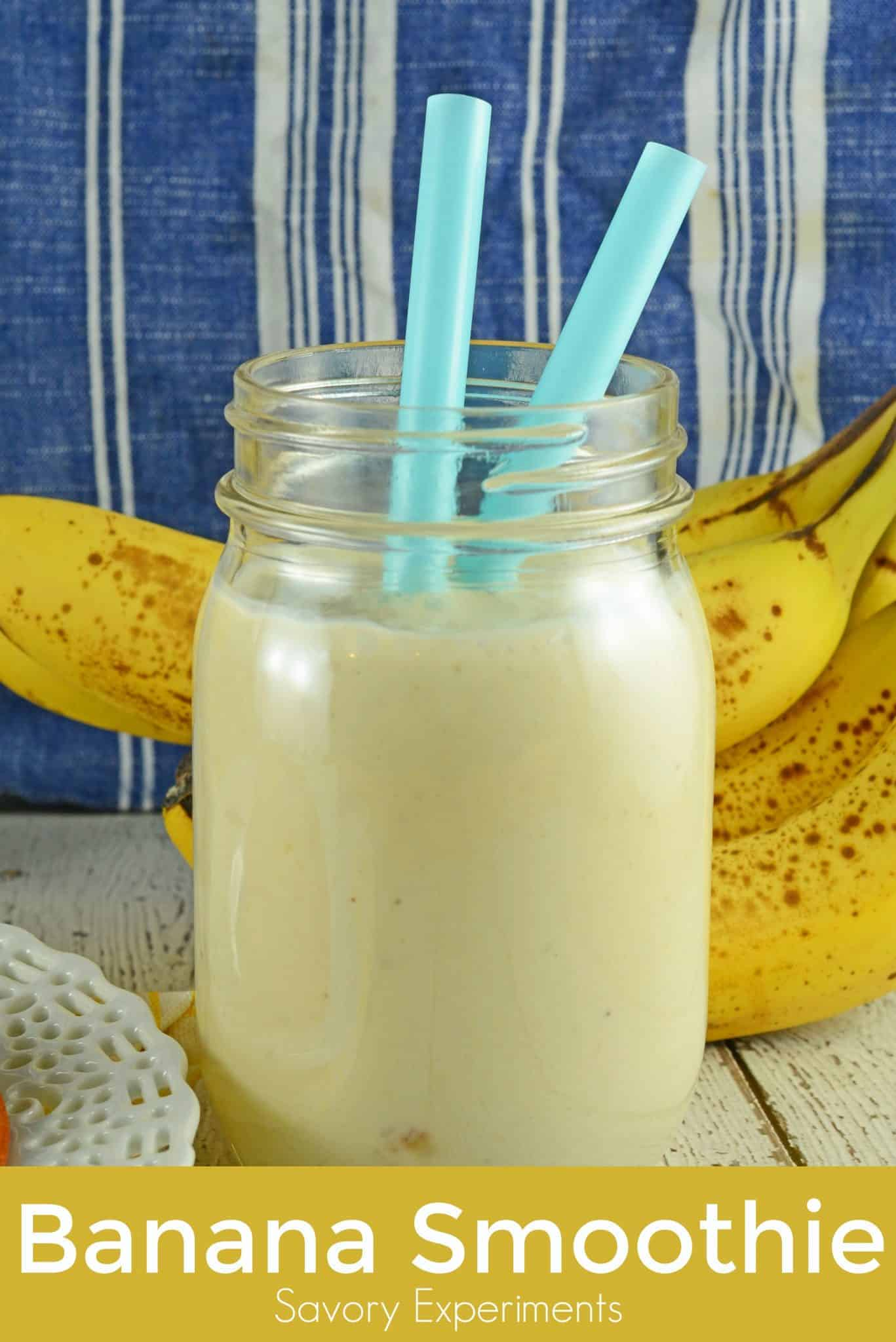 Add protein powder, peanut butter, chocolate, pineapple, strawberries or other delicious fruit to make yourself a custom Banana Smoothie! You can also switch up the yogurt flavor or go plain.