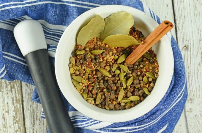 Homemade Pickling Spices