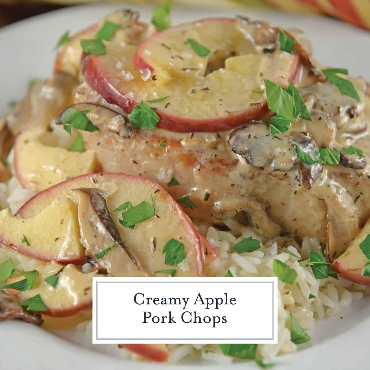 Creamy Apple Pork Chops