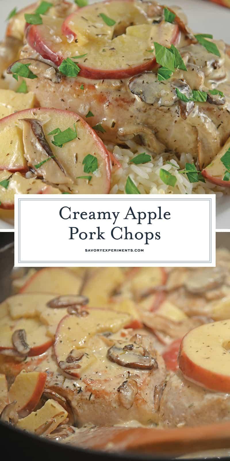 Creamy Apple Pork Chops A 15 Minute Dinner Recipe