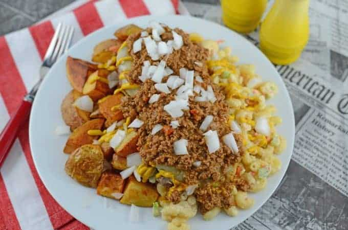 Rochester Style Garbage Plates