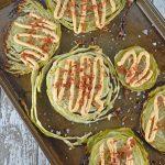 Garlic Cabbage Steaks