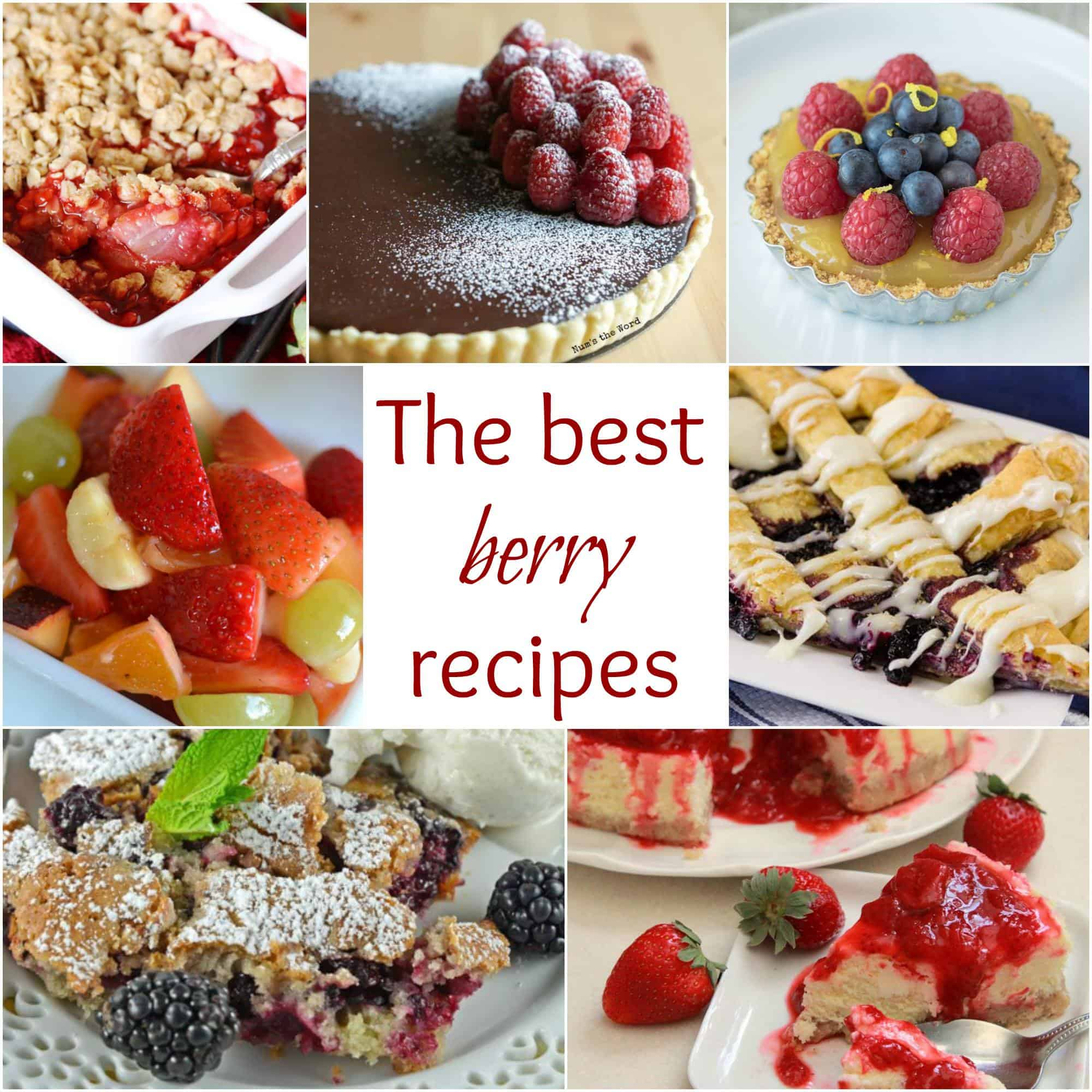 The Best Berry Recipes