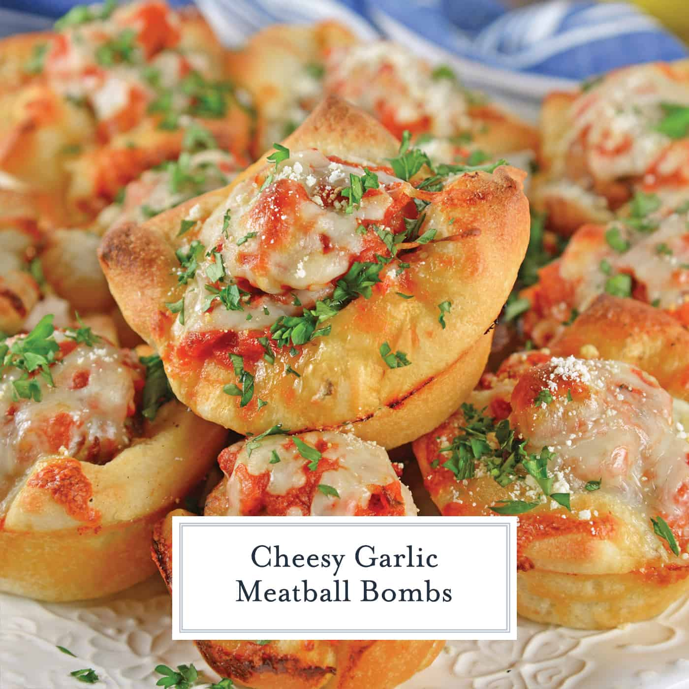 meatball and cheese bombs