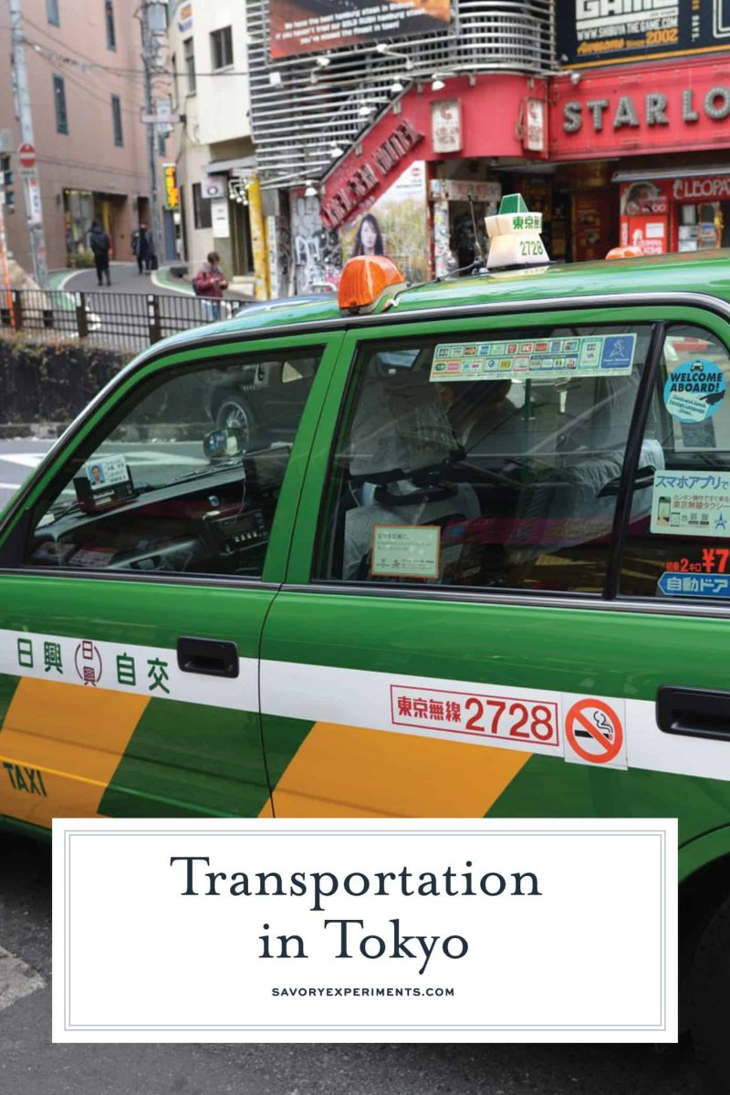 Your easy guide to transportation in Tokyo, Japan from walking, to buses, cabs, Uber, bike and the rails.#tokyo #japan www.savoryexperiments.com