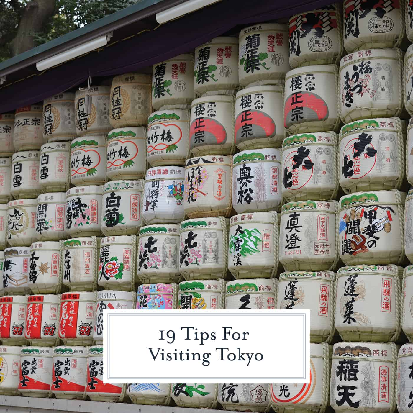 19 tips and tidbits to know before your visit to Tokyo. Make the trip smoother by reading this short article! #tokyo www.savoryexperiments.com