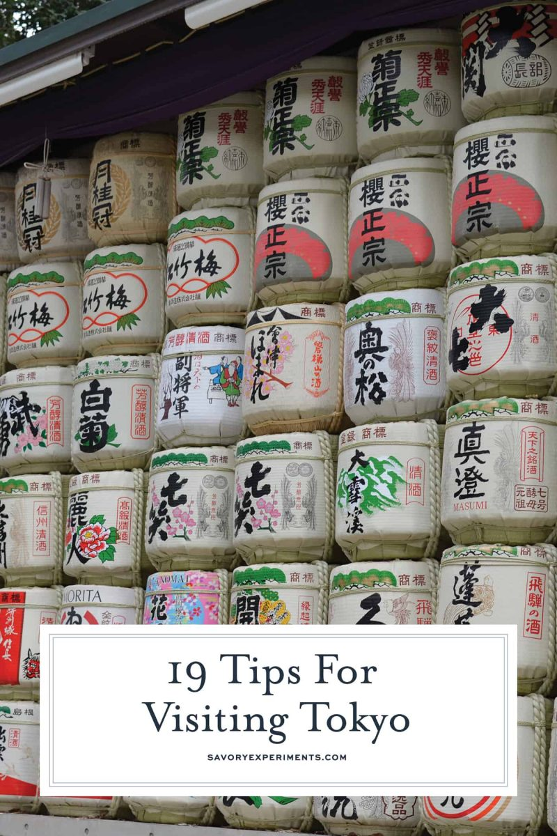 19 tips and tidbits to know before your visit to Tokyo. Make the trip smoother by reading this short article!#tokyo www.savoryexperiments.com