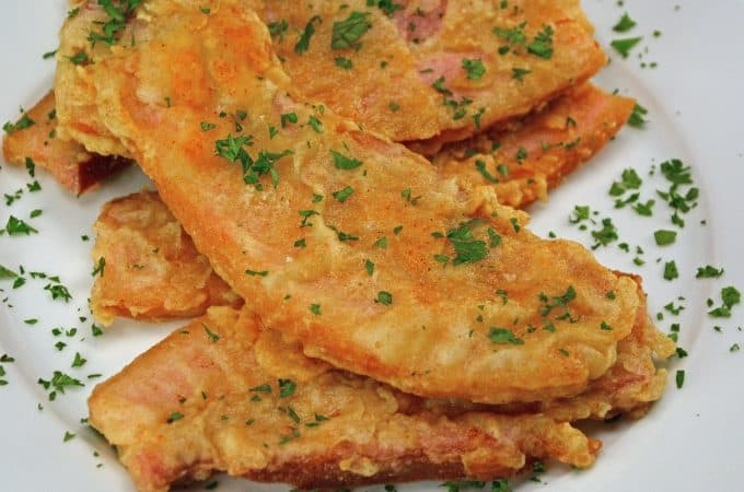 Chicken Fried Bacon