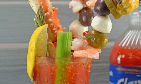 A Clamato Michelada is the perfect party beverage blending Clamato juice with beer, hot sauce and spices to create a refreshing drink for brunches and celebrations everywhere!