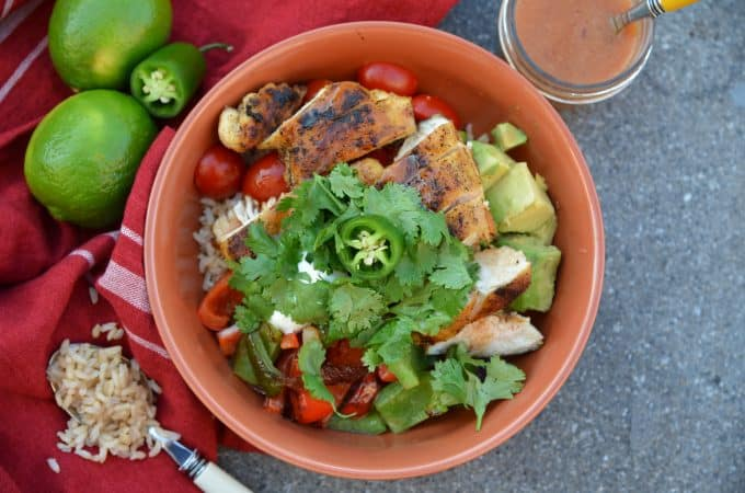Chipotle Chicken Rice Bowls
